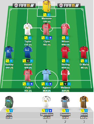 Gameweek 10 side